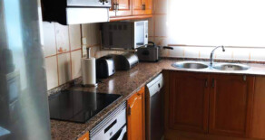Large and sunny flat with garage next to Jesús market – Ref. 345