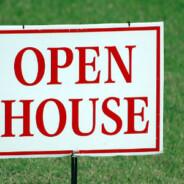 Open house o jornada de puertas abiertas para vender una casa
